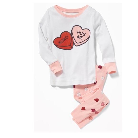 old navy valentines day pajamas 12 18 m nwt - Valentines Day Pajamas